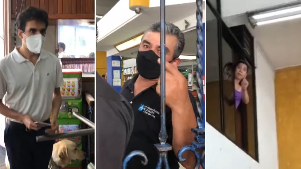 Denuncian discriminación contra joven ciego en restaurante de Córdoba por perro guía - Ciego Córdoba restaurante Mascota guía perro