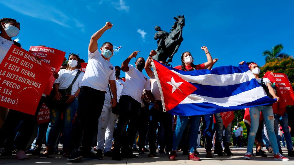 EE.UU. amenaza con sanciones si Cuba procesa a promotores de marcha cívica - Cuba manifestación protesta La Habana