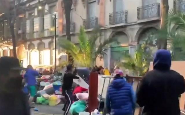 Particular organizó desalojo violento en colonia Juárez, aclara gobierno capitalino - Desalojo Colonia Juárez