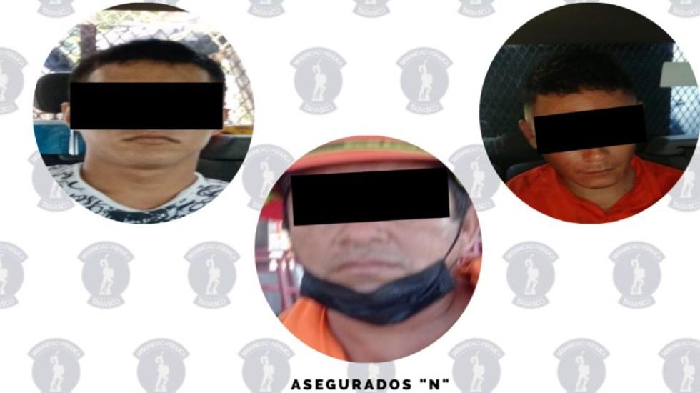 Detienen a tres por enfrentamientos en refinería de Dos Bocas, Tabasco - Detenidos enfrentamiento Tabasco refinería Dos Bocas