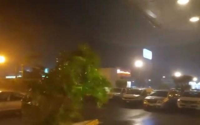 #Video Huracán Rick avanza por Michoacán con intensas lluvias - Efectos del huracán Rick en Michoacán