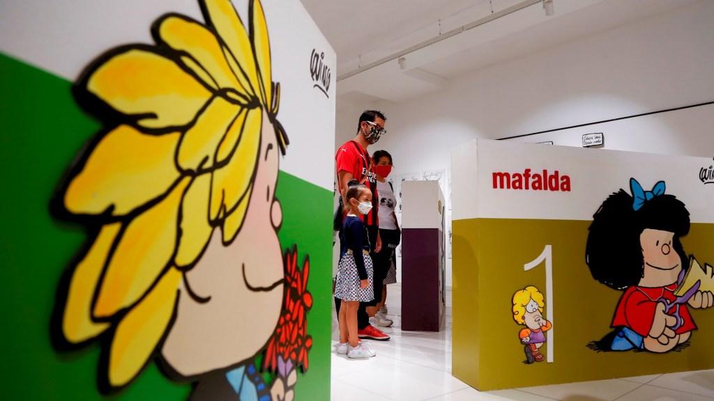 'El mundo según Mafalda' llega a cinco ciudades de México - El Mundo Según Mafalda 2