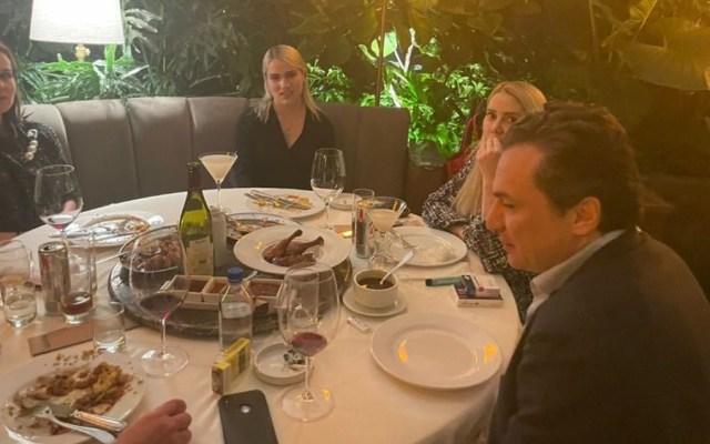 Inmoral y acto de provocación: AMLO sobre fotos de Lozoya en restaurante - Emiio Lozoya restaurante CDMX