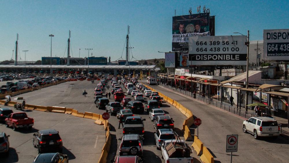 Nivel de vacunación anticovid en México, esencial para reapertura de frontera con EE.UU.: Ebrard - frontera México EEUU Tijuana Ebrard