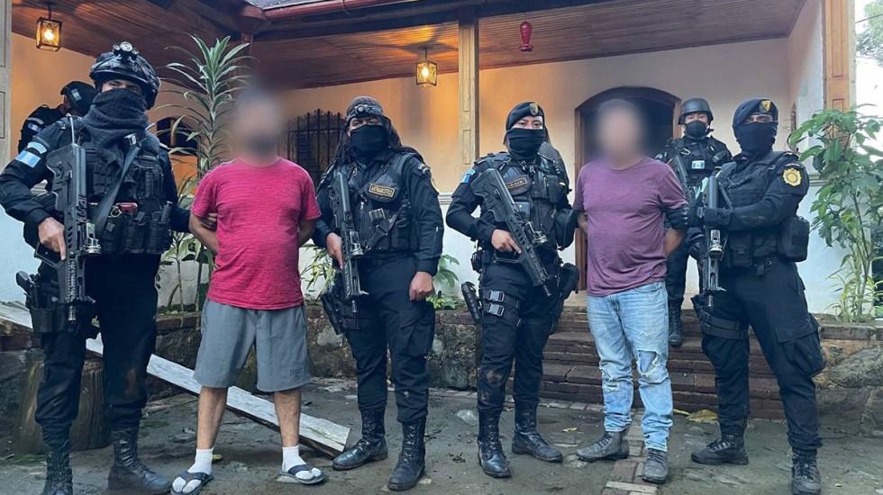 Detienen en Guatemala a dos narcotraficantes; serán extraditados a EE.UU. - Hermanos detenidos en Guatemala para su extradición a Estados Unidos
