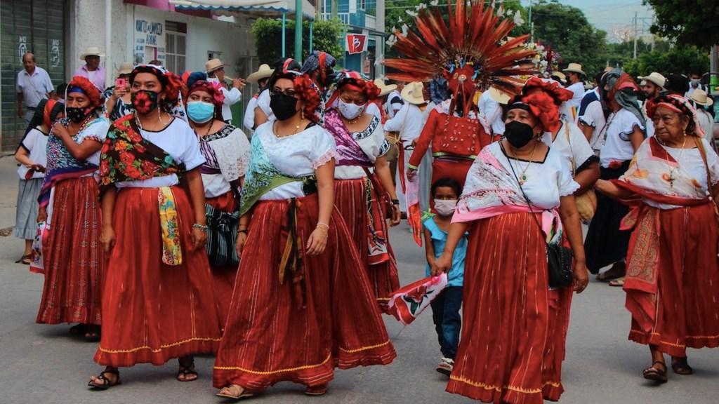 Realizan tradicional procesión de vírgenes en Chiapas. Noticias en tiempo real