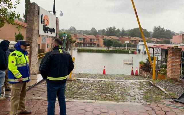 Alerta roja en Tequisquiapan ante nuevas posibles inundaciones - inundaciones Tequisquiapan Querétaro Alerta Roja