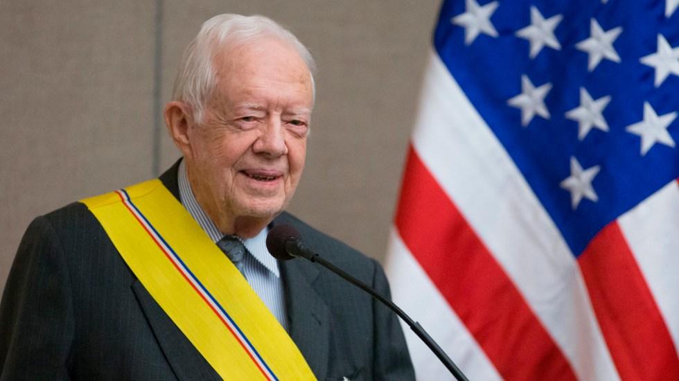 Jimmy Carter, el expresidente más longevo de historia de EE.UU., cumple 97 años - Jimmy Carter, expresidente de Estados Unidos