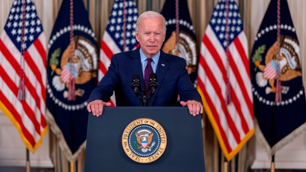 Biden no descarta que EE.UU. pueda entrar en suspensión de pagos este mes - Joe Biden