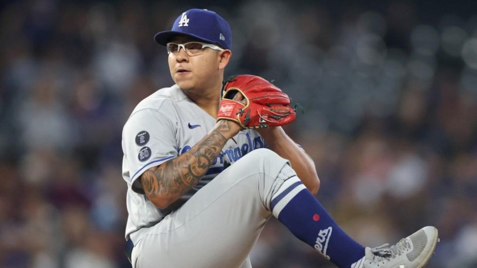 AMLO desea que Julio Urías gane con Dodgers ante San Francisco - Julio Urías Dodgers
