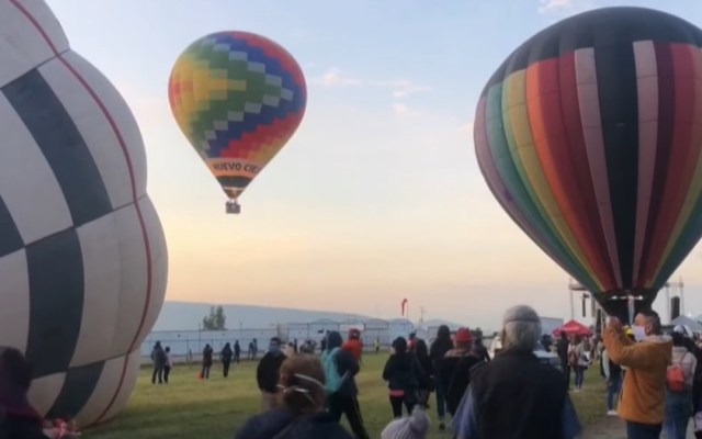 Los globos aerostáticos se apoderan del cielo de la ciudad mexicana de Puebla