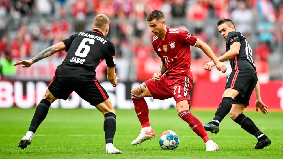 Ordenan el ingreso a cárcel en España del futbolista Lucas Hernández - Lucas Hernández Bayern Munich