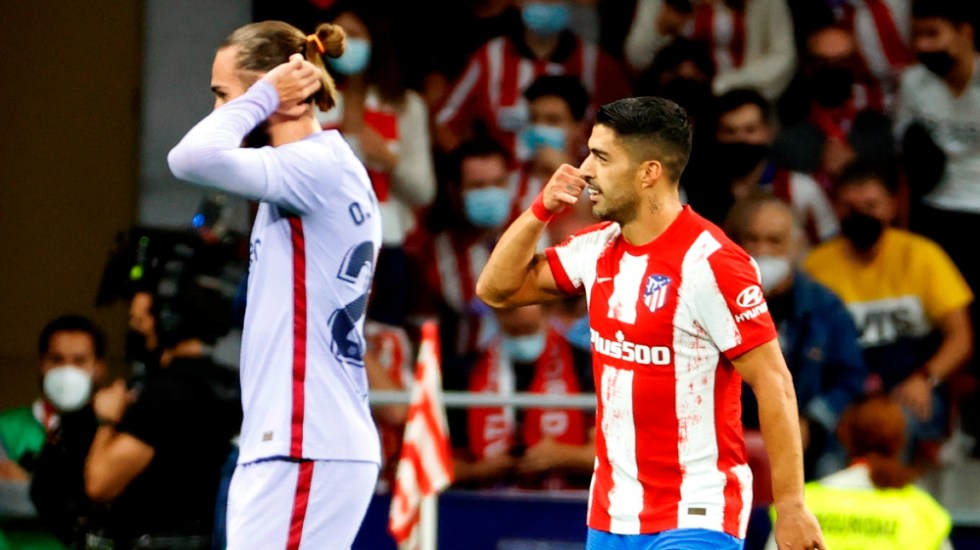 Atlético de Madrid gana al Barcelona y pone a Koeman en la cuerda floja - Luis Suárez Atlético de Madrid Barcelona