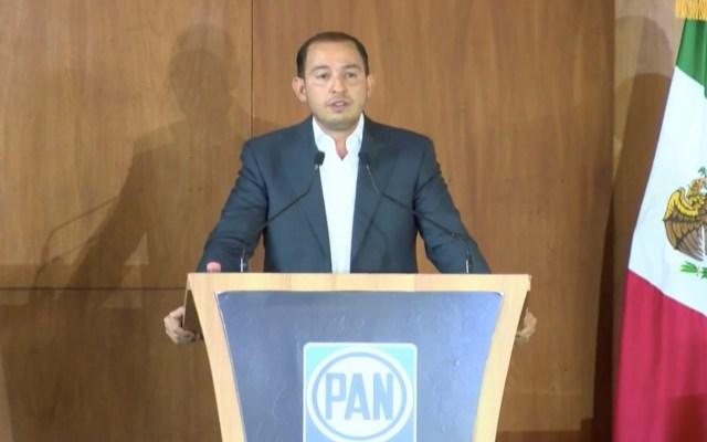 PAN reelige a Marko Cortés como dirigente Nacional del partido - PAN ratifica a Marko Cortés como dirigente Nacional del partido. Foto tomada de video