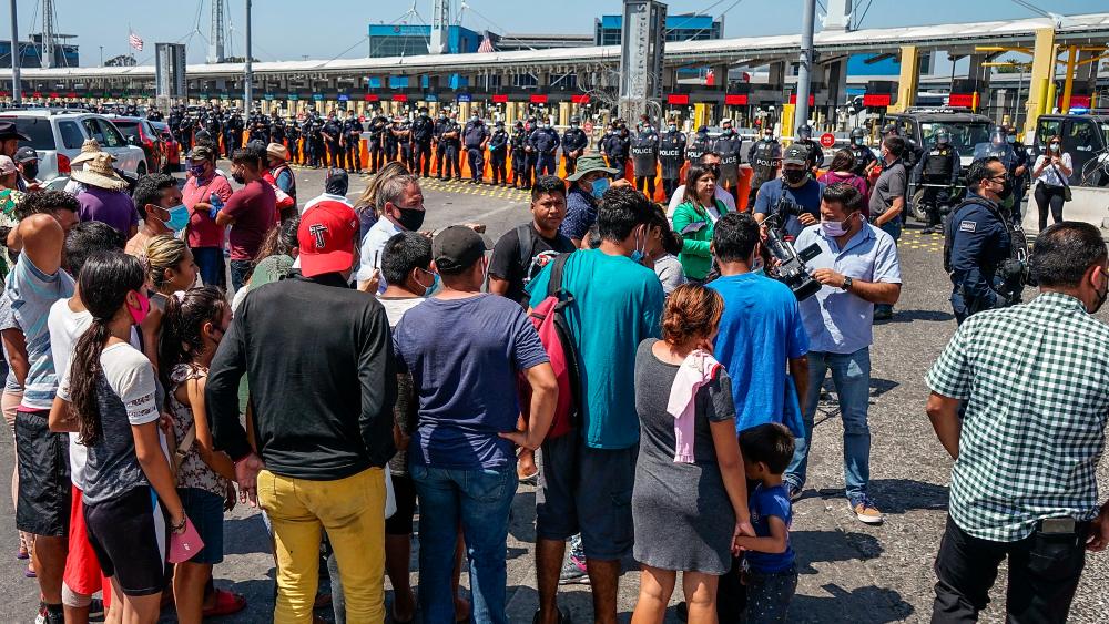 EE.UU. da ayuda adicional de 20 millones de dólares a México y Centroamérica - México EEUU migrantes ayuda
