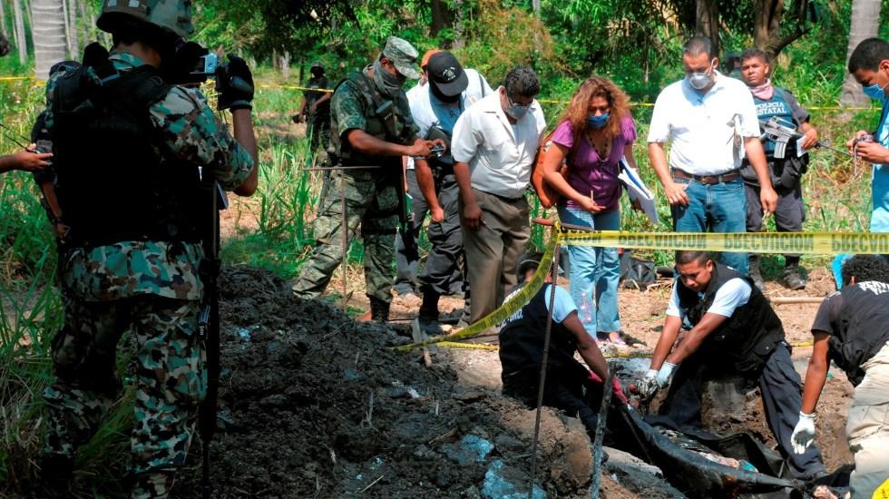 México registra al menos 800 casos de tortura en lo que va del 2021: ONG - México tortura fosa Clandestina