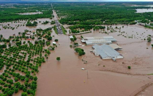 Ciclón Pamela deja inundaciones en municipios del norte de Nayarit - Nayarit inundaciones Pamela