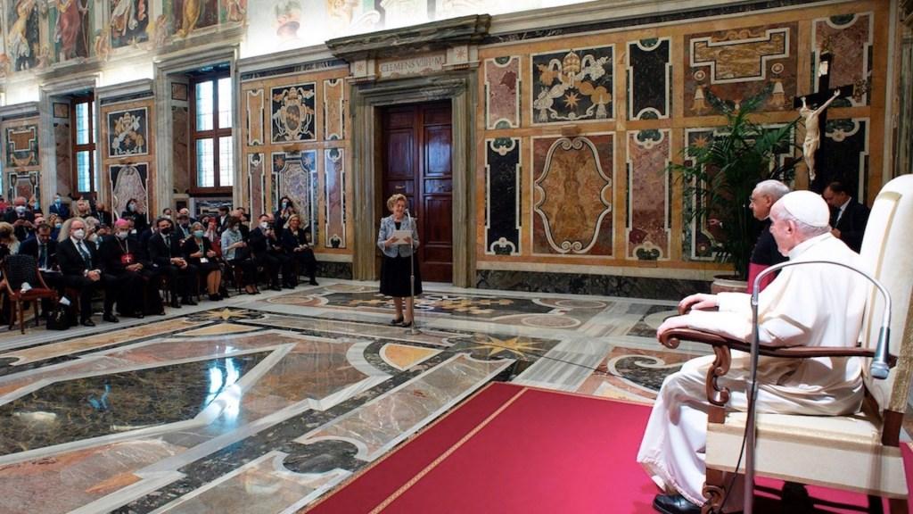 Papa Francisco pide eliminar muros del egoísmo y de intereses nacionales - Papa Francisco pide eliminar muros del egoísmo y de intereses nacionales. Foto de EFE