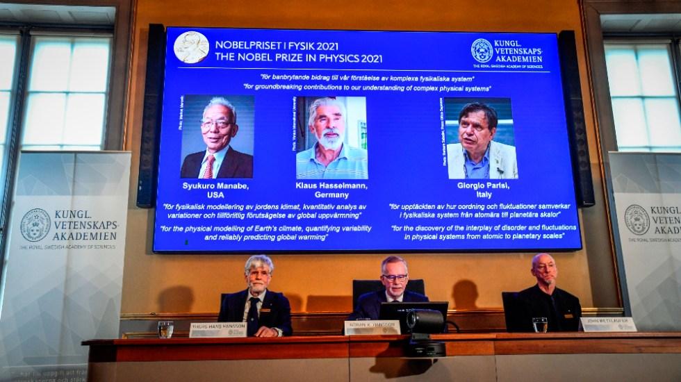 Nobel de Física para los sistemas físicos complejos y estudios del clima - Premio Nobel Física 2021 Manabe Hasselmann Parisi