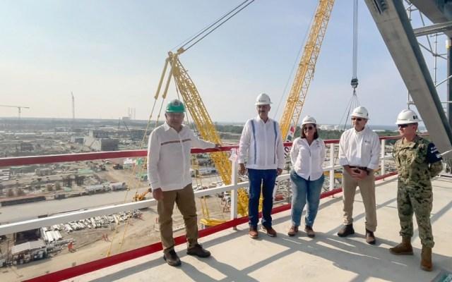 AMLO puso fecha de inauguración y nuevo nombre a refinería de Dos Bocas - refinería Dos Bocas AMLO López Obrador Olmeca
