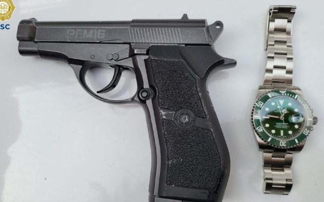 Detienen a dos jóvenes por robar reloj de alta gama en Polanco - reloj alta gama asalto restaurante Polanco