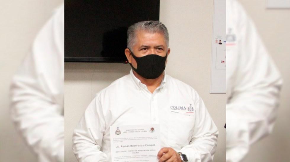 Asesinan a director del Cereso de Colima y hieren a su esposa - Román Buenrostro, director de Cereso de Colima