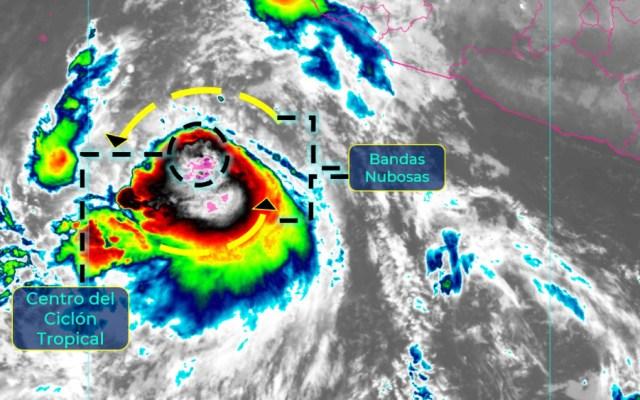 Tormenta tropical Pamela avanza a costas de Colima y Jalisco; se convertiría en huracán - tormenta tropical Pamela