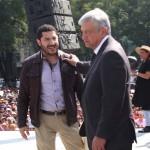 01 dic 2012 AMLO-Ángel de la Independencia 13