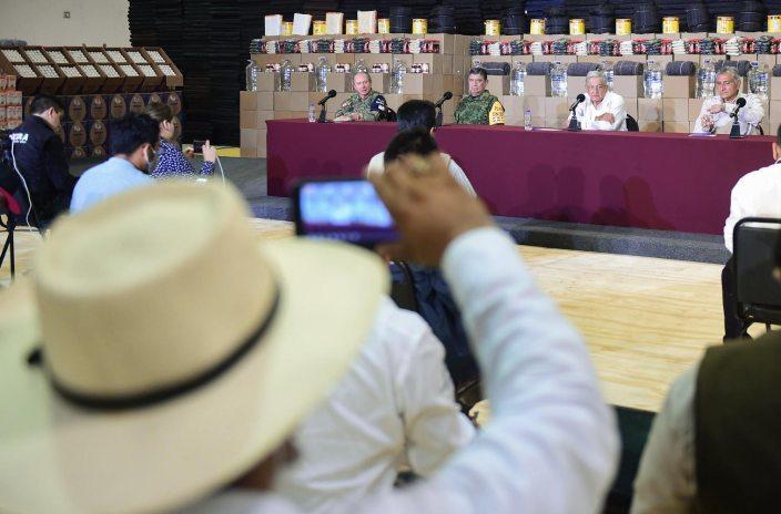 14 11 2020 CONFERENCIA DE PRENSA AVANCES EN LA ATENCION A TABASCO POR INUNDACIONES FOTO 01 - Presidente supervisa en Tabasco atención a damnificados – AMLO #AMLO