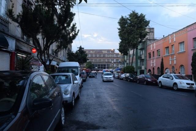 Calle Manuel Altamirano, colonia San Rafael.