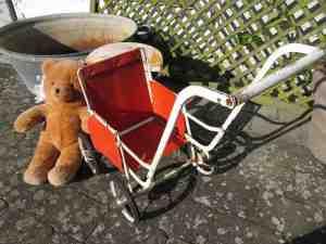 Fransk 50er Dukkeklapvogn