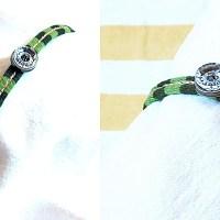 Grönrandigt armband
