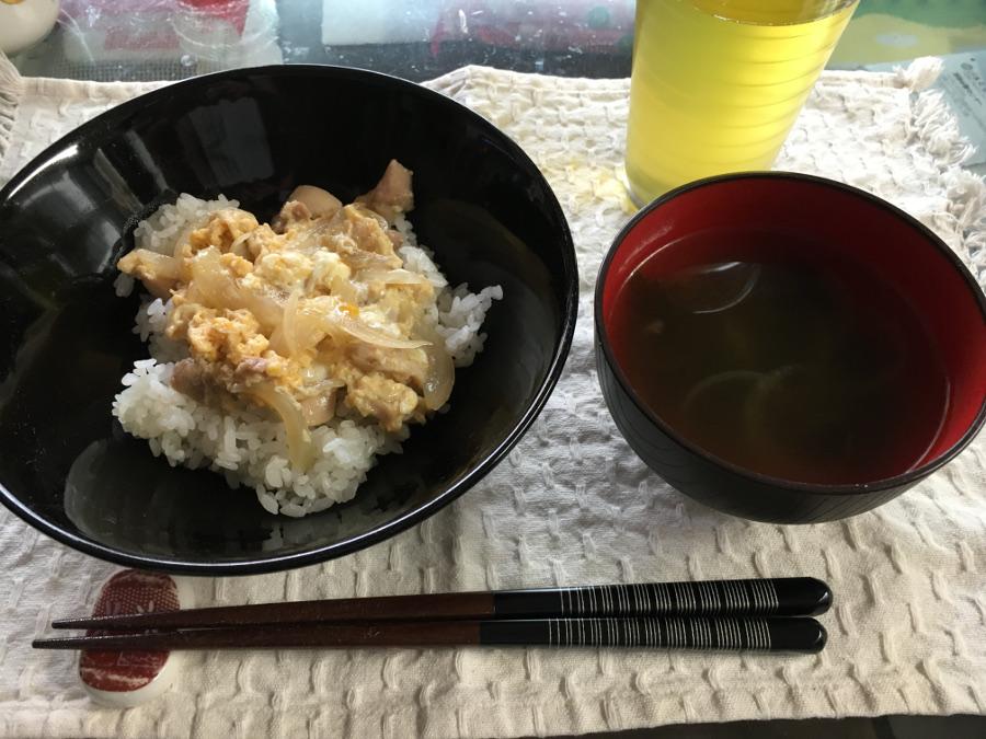 親子丼 スープ