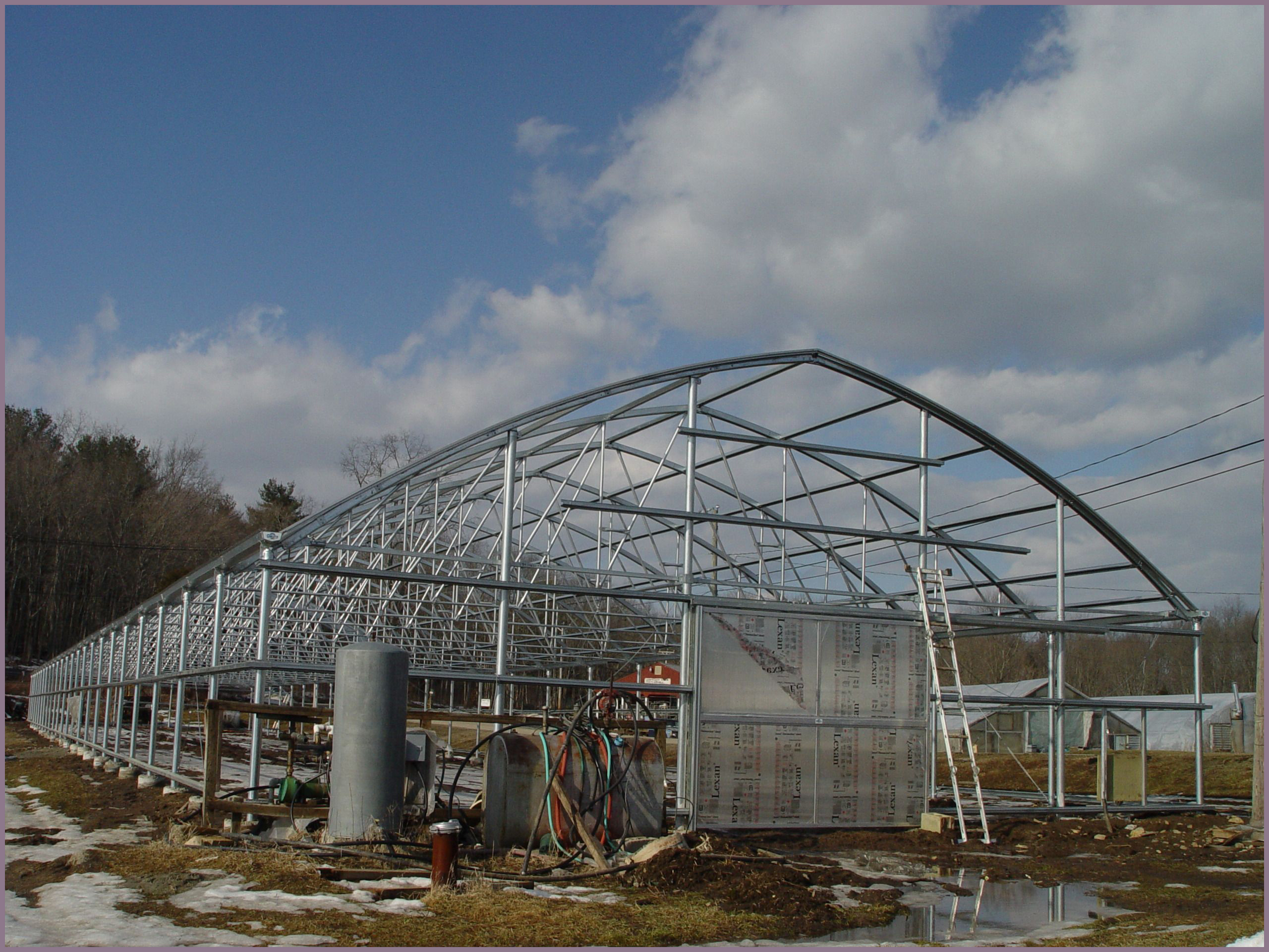 Dismantle And Replace Greenhouse