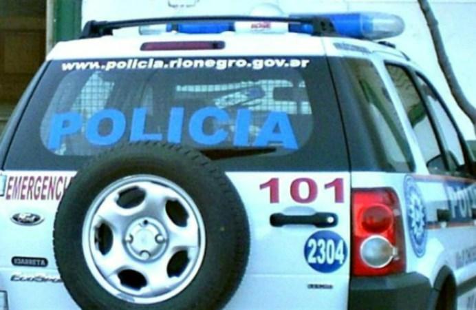 camioneta policia