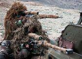 Tireurs vêtus du camouflage Ghillie-min (1)