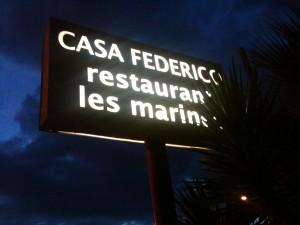 Casa Federico, aka Les Marines (f: Cuchillo)