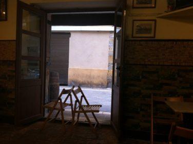 Aquí no entra nadie, que vamos a cerrar el Figón de Rosa (foto: Cuchillo)