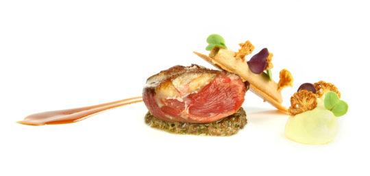 Propuesta de Azurmendi, restaurante del gran Eneko Atxa (foto: azurmendi.biz)
