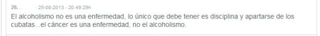 """""""El alcoholismo no es una enfermedad...."""""""