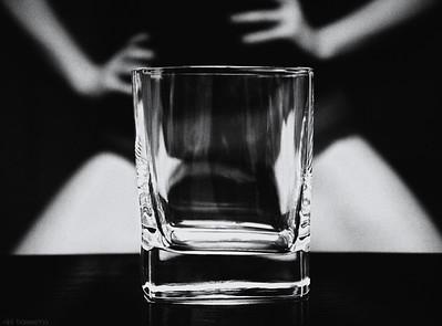 Cuarenta con una persona alcohólica
