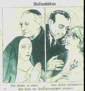 Germanic Female Jew influenced both via sex & religion