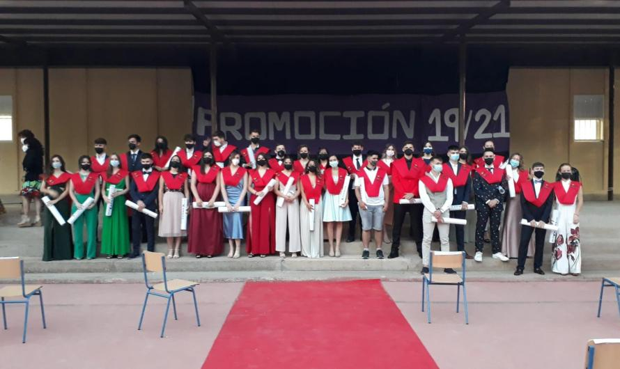 …Y tras la selectividad, el IES Guadalentín celebra el acto de graduación