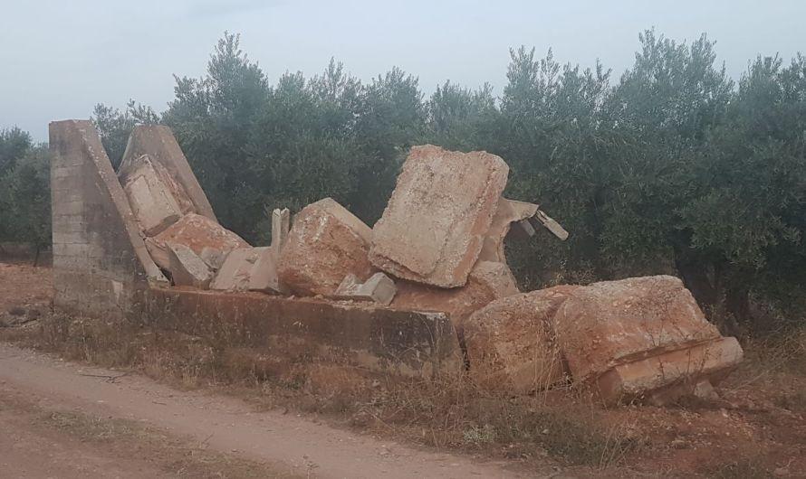 Foto denuncia: Esculturas Rurales
