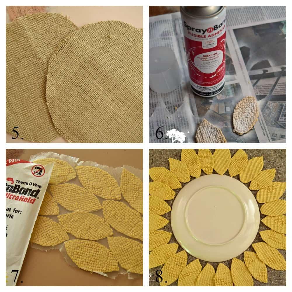 Sunflower Pillow instructions
