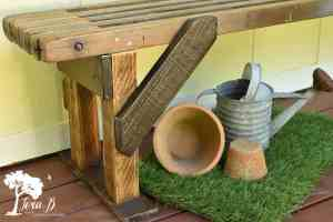 Rustic DIY Bench