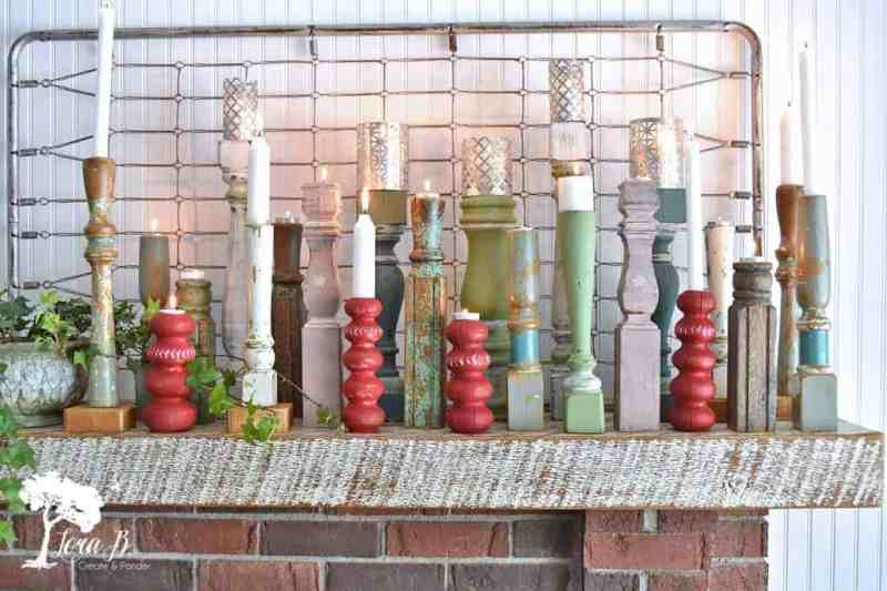 repurposing old furniture legs