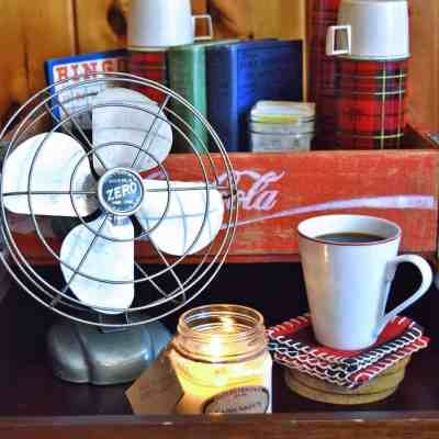 Decorating a Northwoods Cabin with Vintage Camp Style