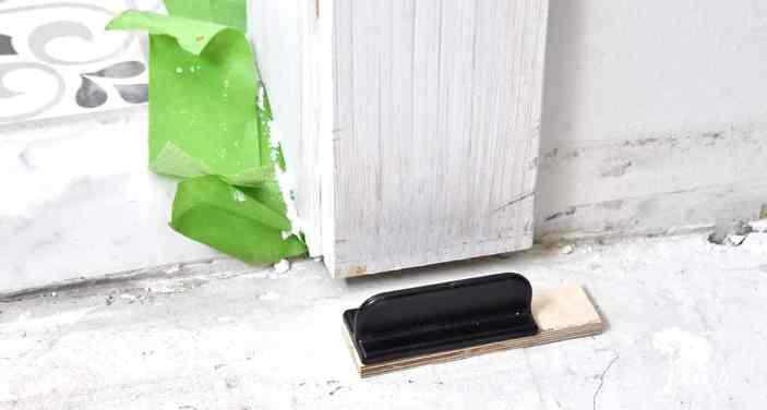 slider door floor guide
