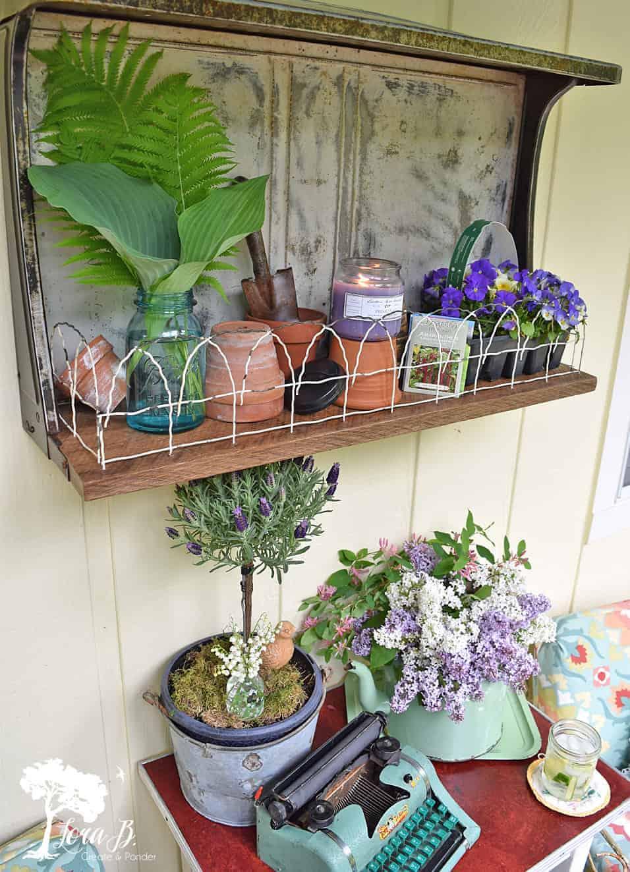 garden porch decor